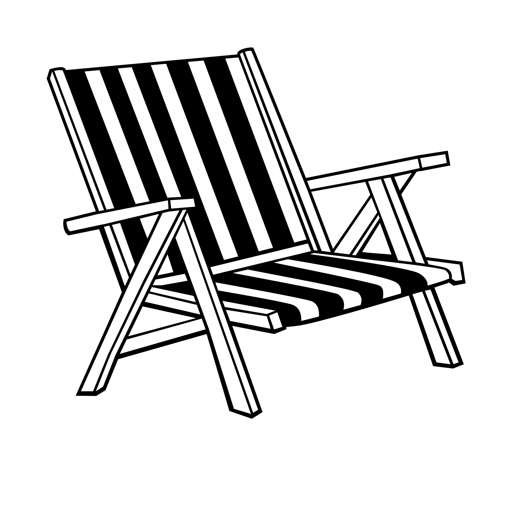 Adirondack Chairs Drawing At Getdrawings
