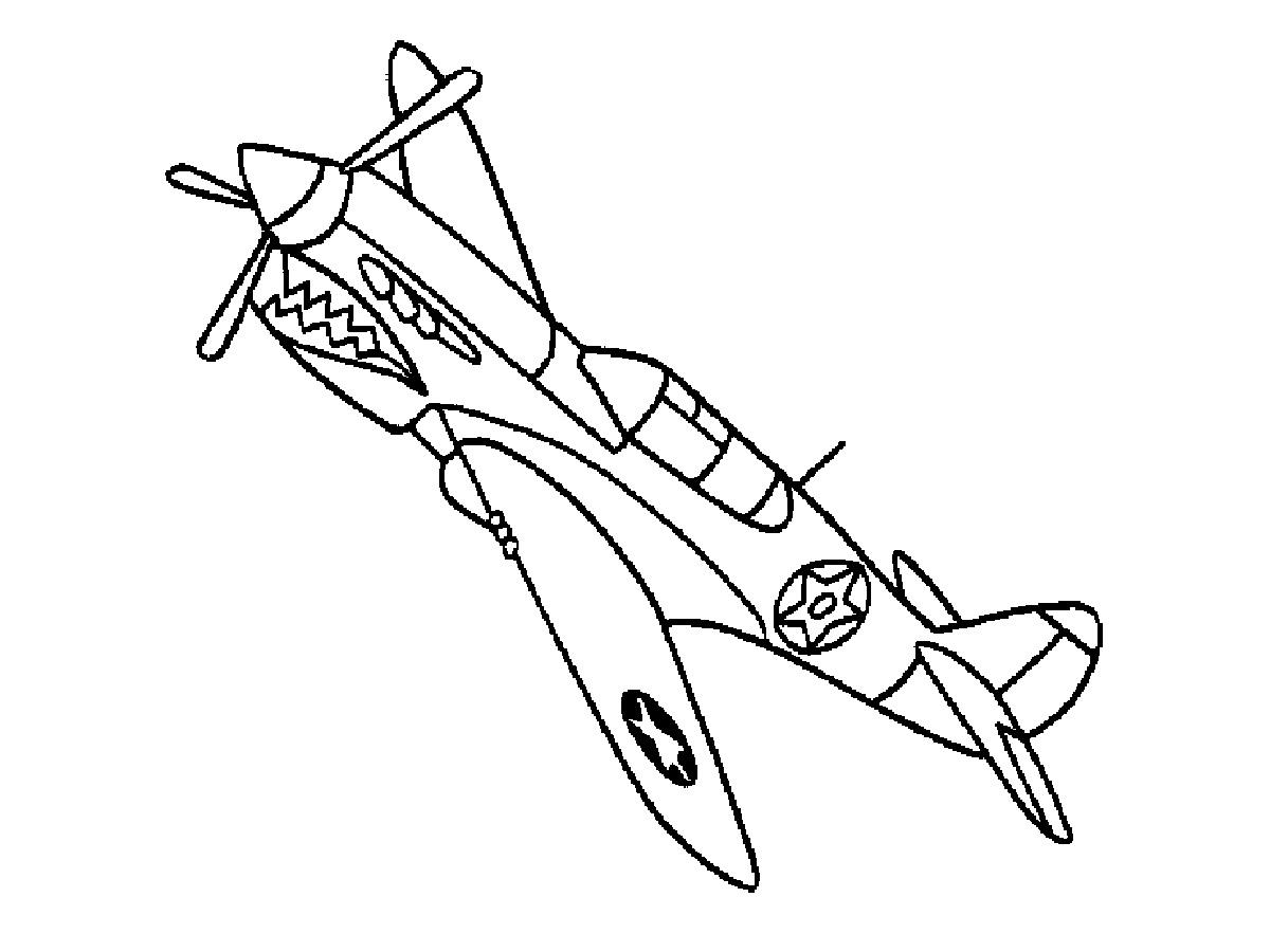 Aeroplane Drawing For Kid At Getdrawings