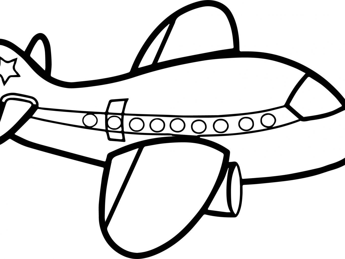 Airplane Drawing At Getdrawings