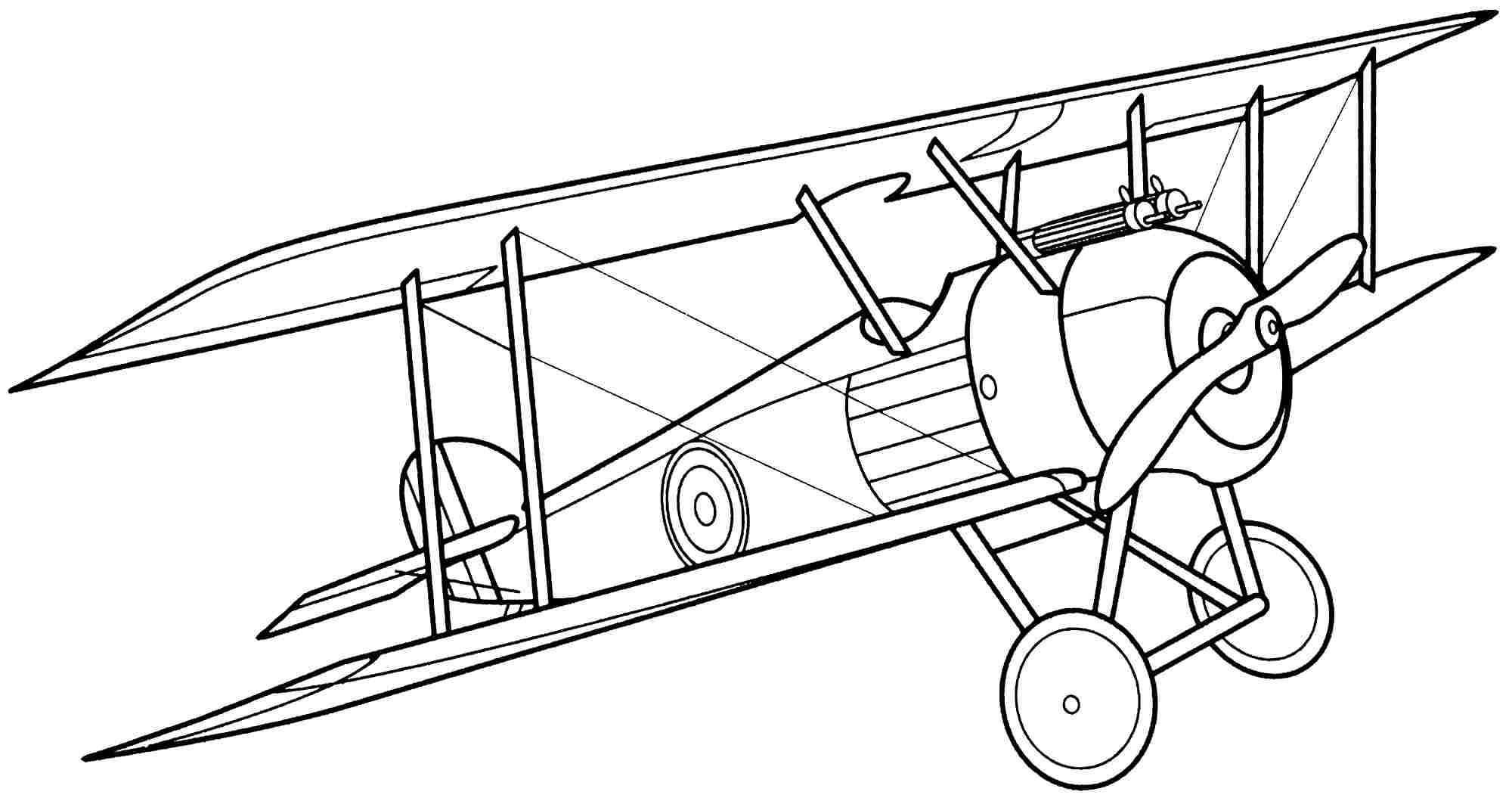 Airplane Drawing Simple At Getdrawings