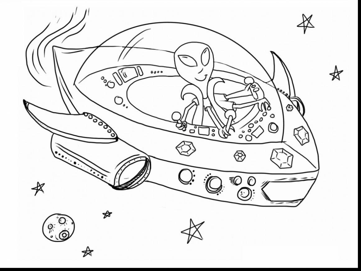 Alien Ship Drawing At Getdrawings