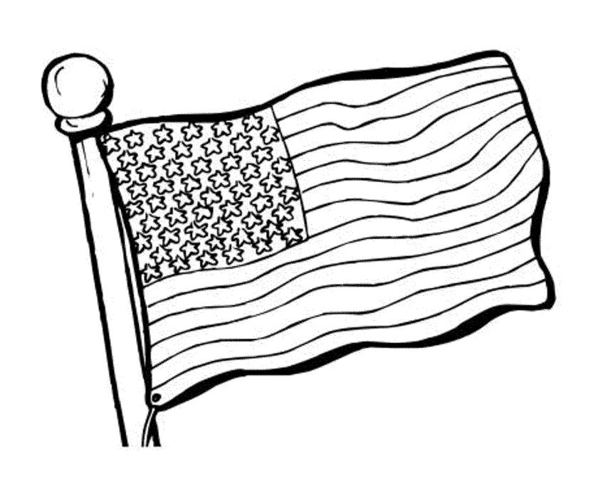 american flag line drawing at getdrawings  free download