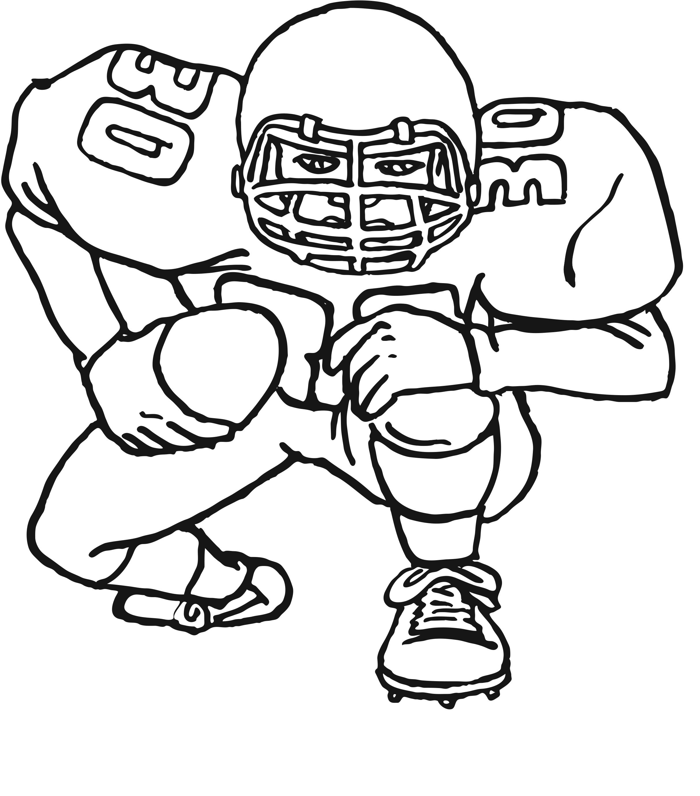 American Football Ball Drawing At Getdrawings