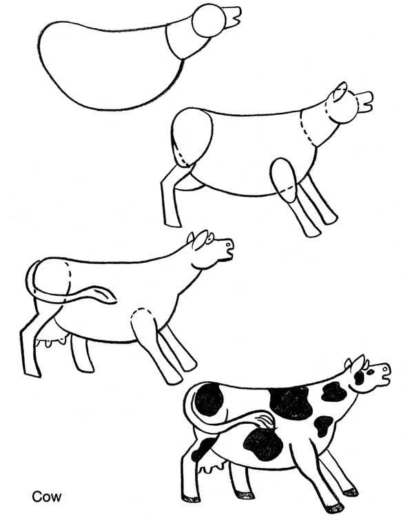 Barn Line Drawing At Getdrawings Com