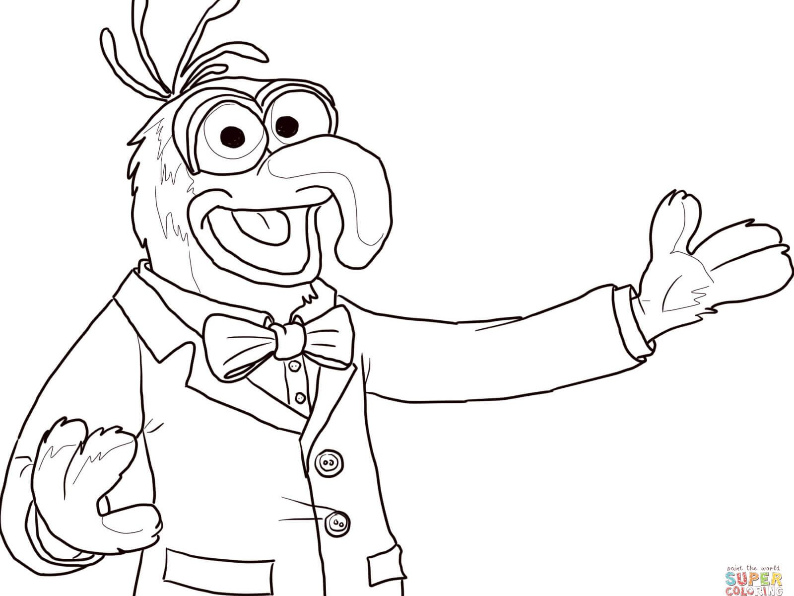 Animal Muppets Drawing At Getdrawings