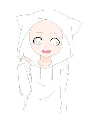 anime boy drawing base