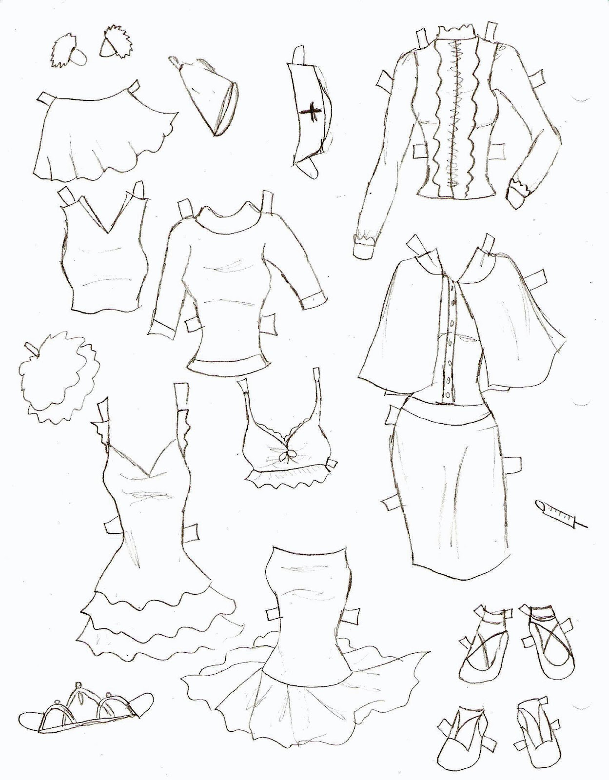 hight resolution of anime shorts drawing