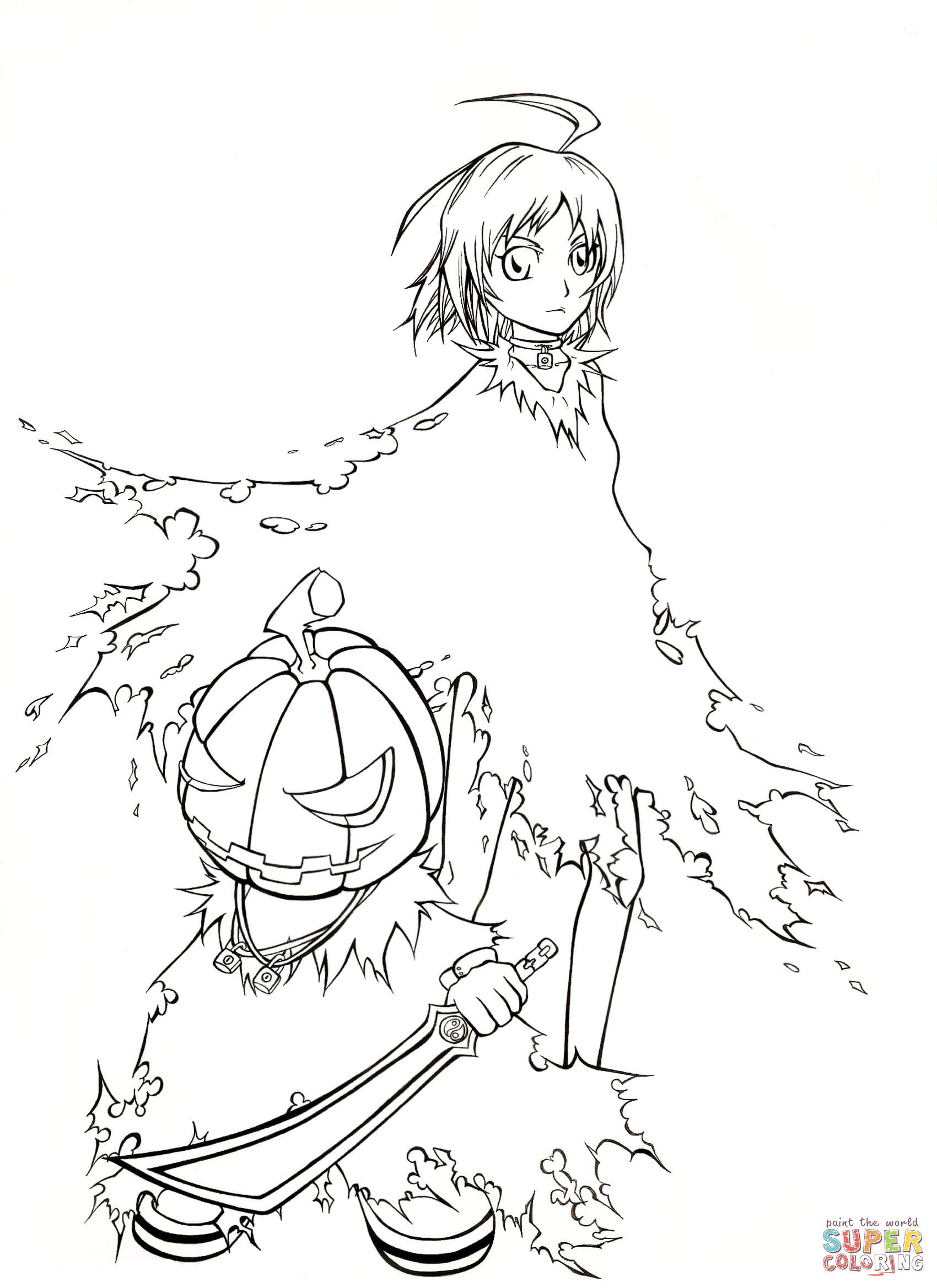 Anime Witch Drawing At Getdrawings