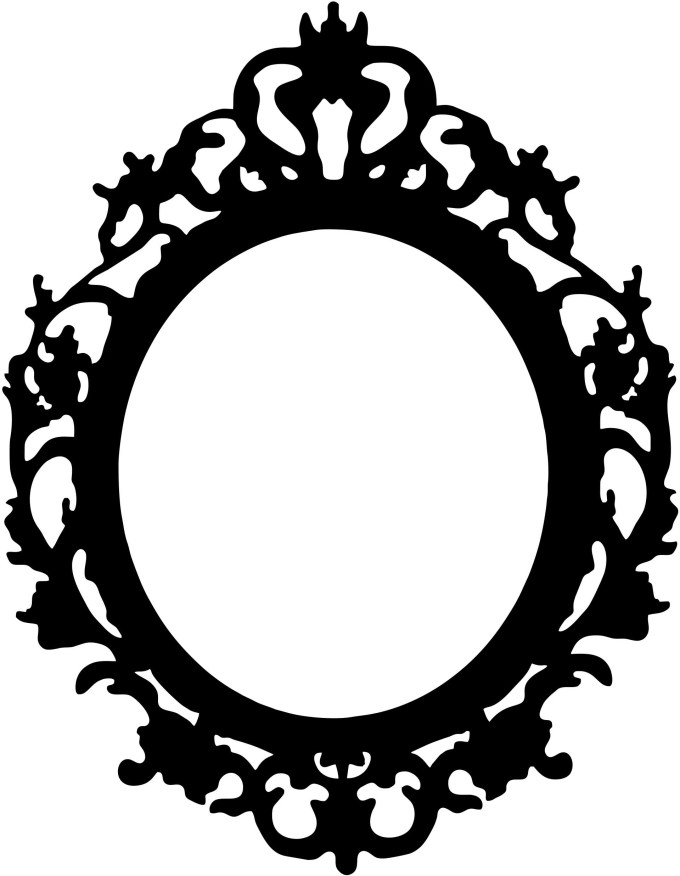 Vintage Oval Picture Frame Template | Framesite.co