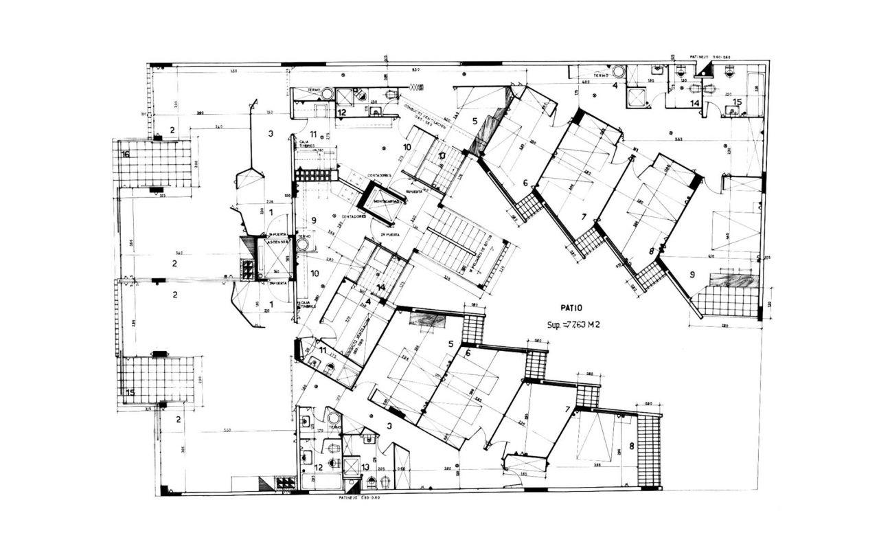 Apartment Building Drawing At Getdrawings