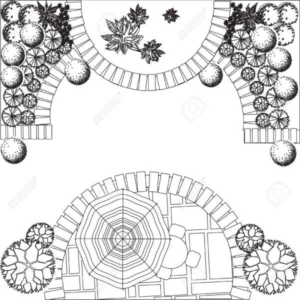 architectural drawing symbols floor