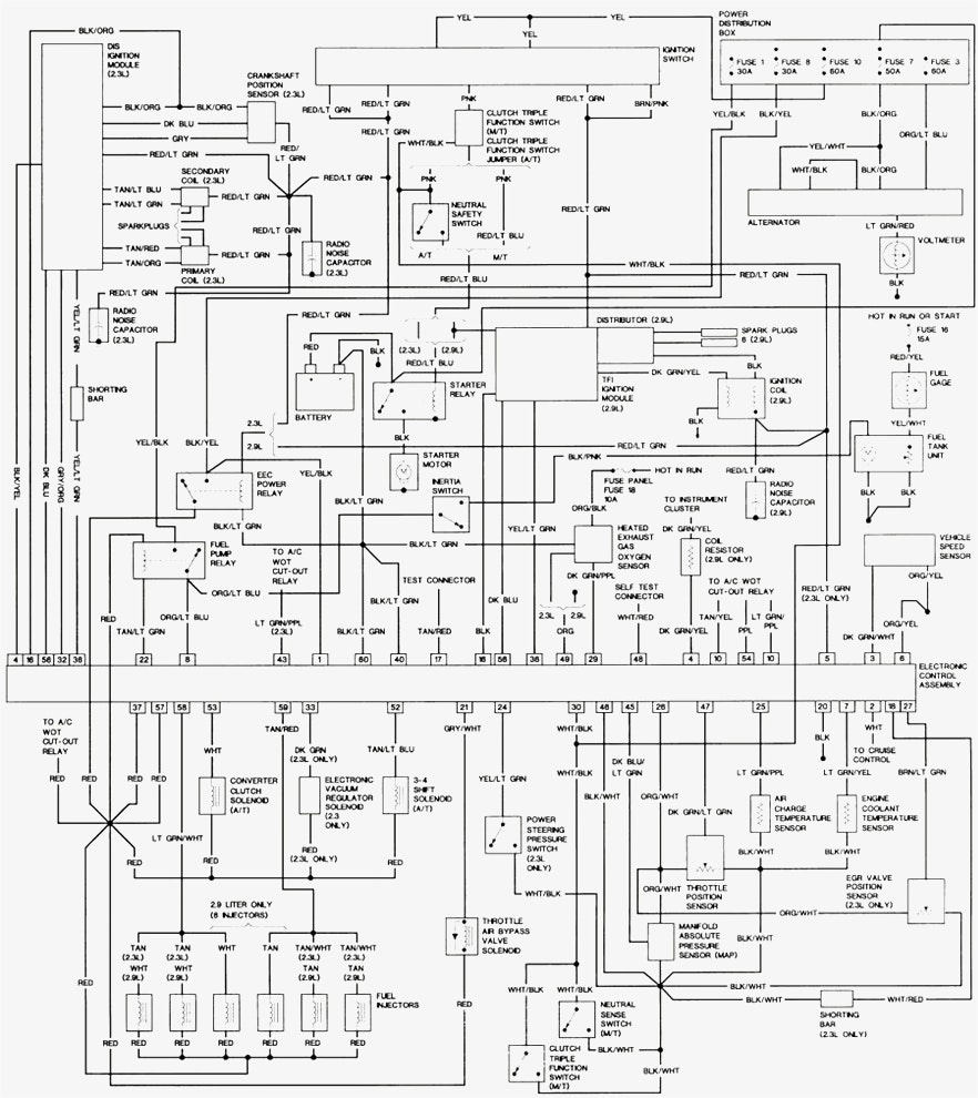 882x990 simple wiring diagram for 1991 ford e350 only 94 ford radio wiring