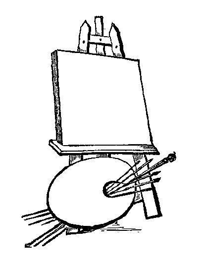 Easel Drawing At Getdrawings Com