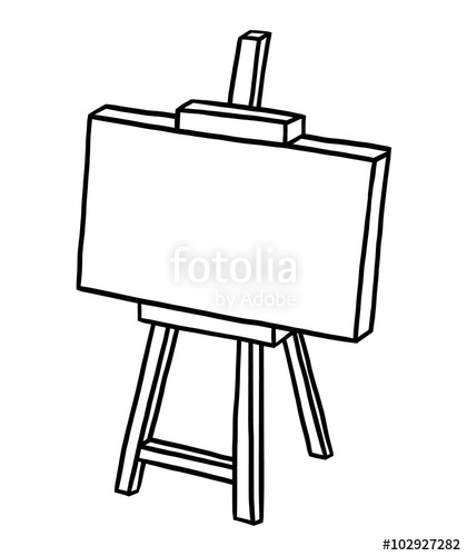 Easel For Drawing At Getdrawings Com