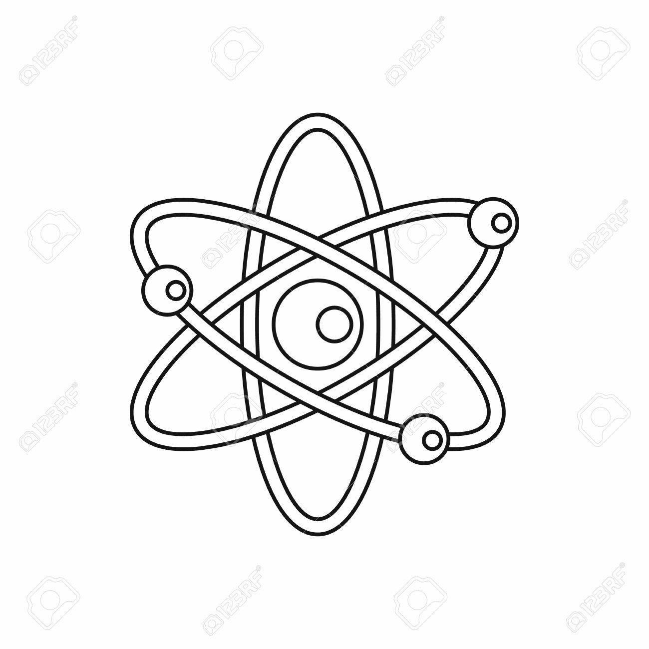 Atoms Drawing At Getdrawings
