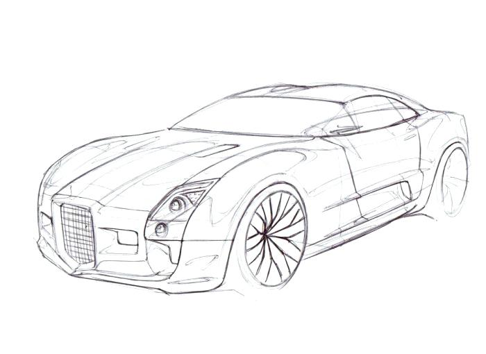 The best free Audi drawing images. Download from 135 free