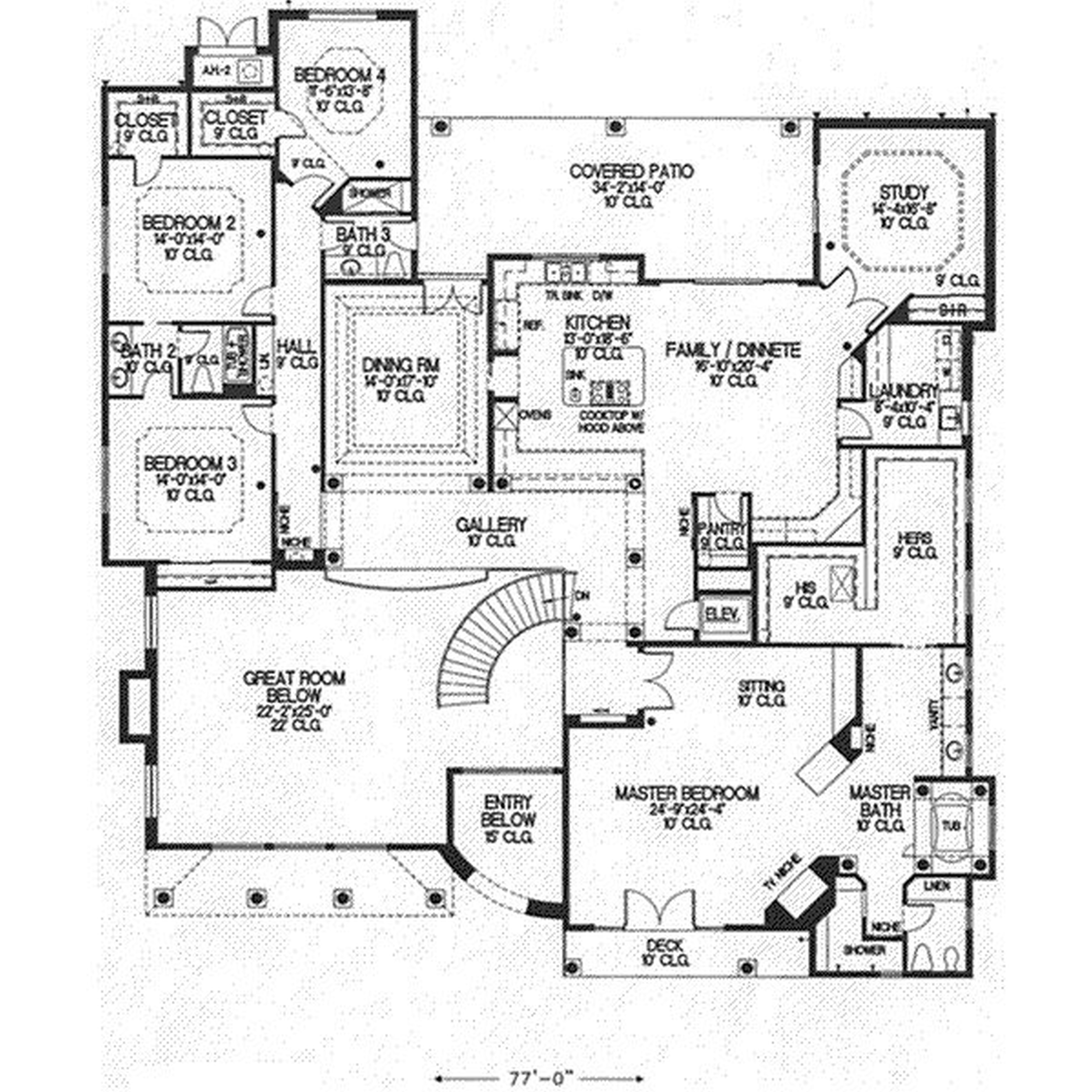 Autocad House Drawing At Free For