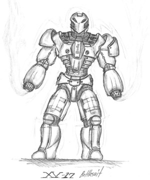 robot drawing drawings awesome concept cool deviantart getdrawings hand paintingvalley superhero