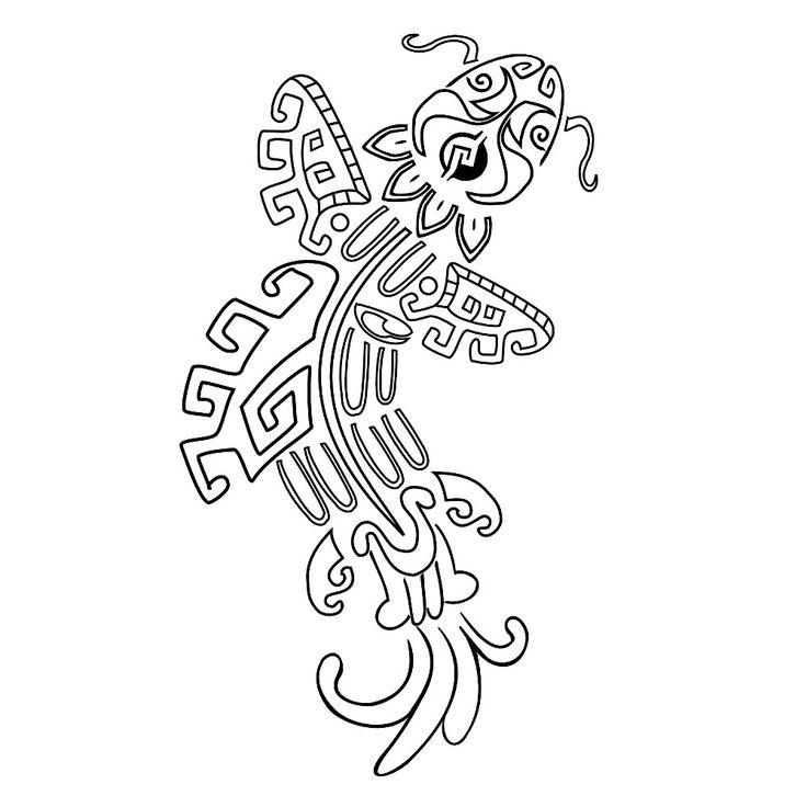 Aztec Calendar Drawing At Getdrawings Com