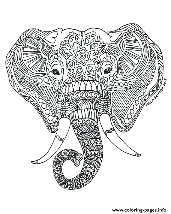 Elephant Drawing Pictures At Getdrawings Com