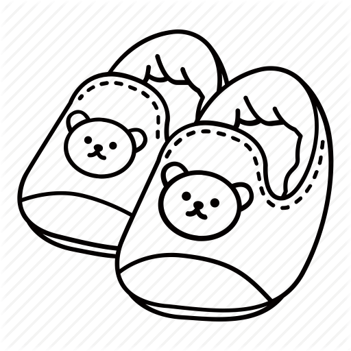 Baby Booties Drawing At Getdrawings Com