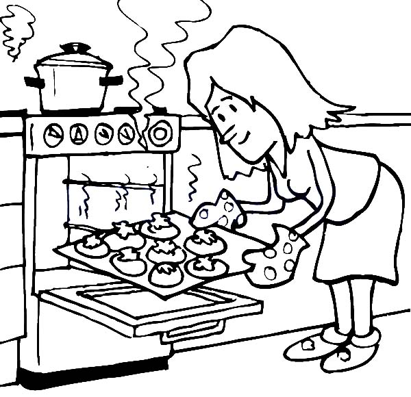 Bakery Drawing At Getdrawings Com