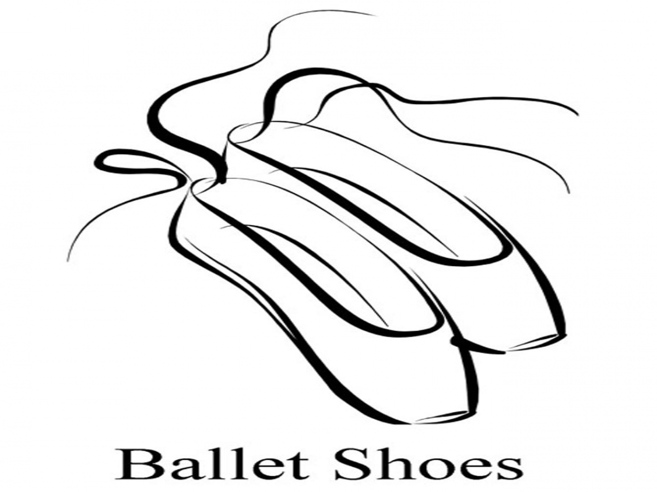 Ballet Shoe Drawing At Getdrawings