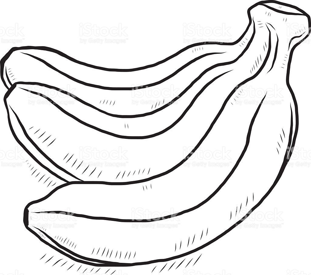 Bananas Drawing At Getdrawings