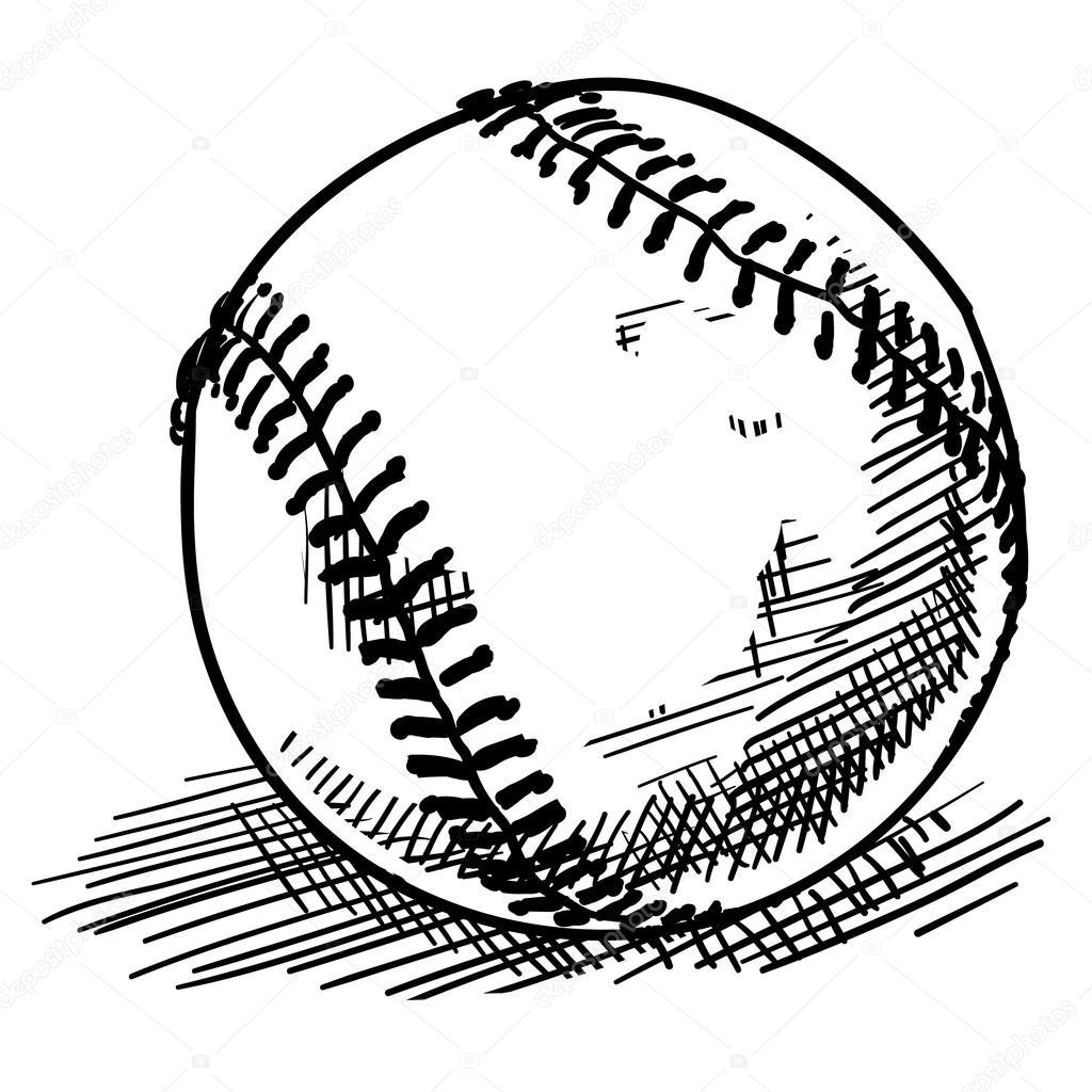 Baseball Field Drawing At Getdrawings