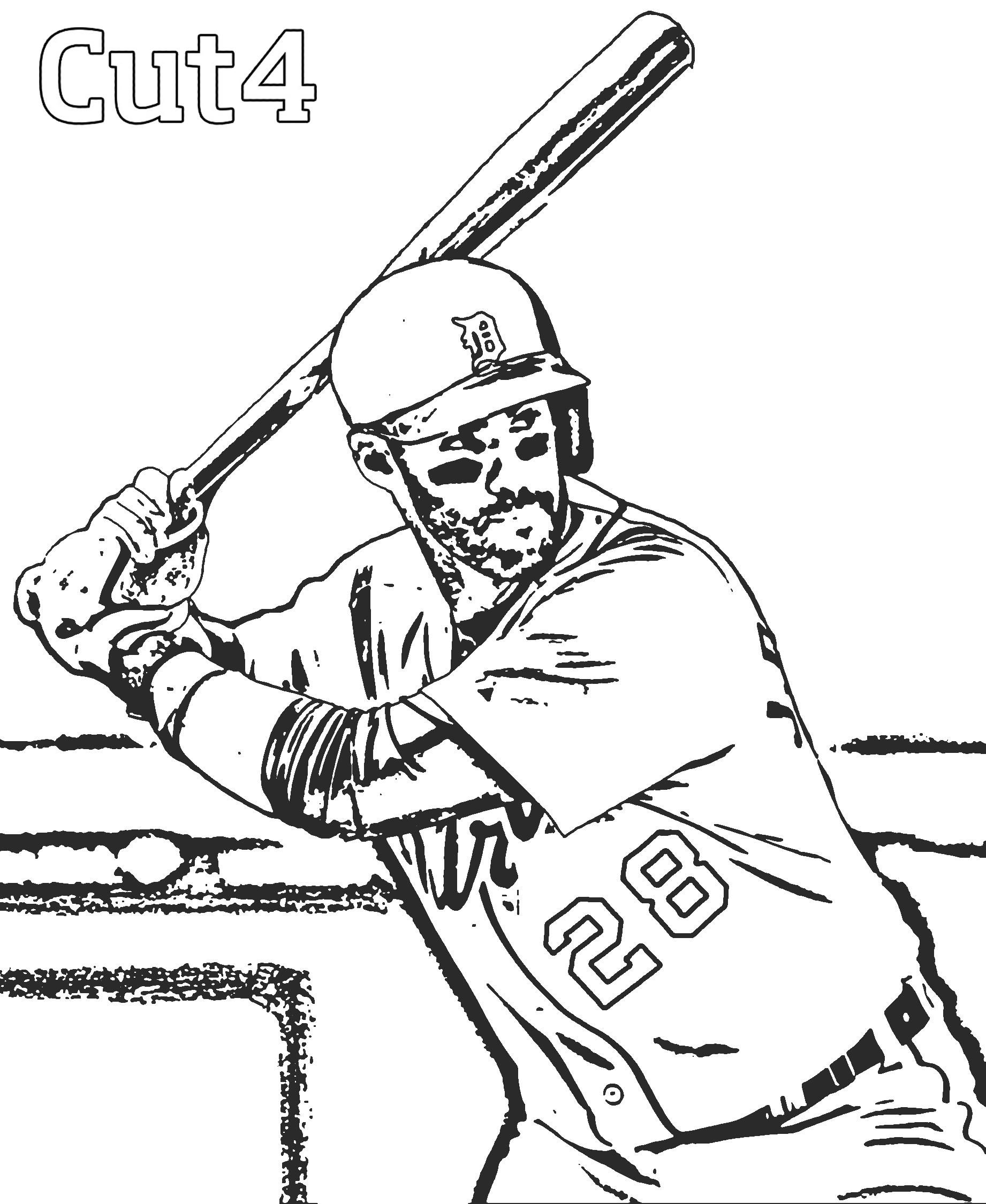 Baseball Player Drawing At Getdrawings