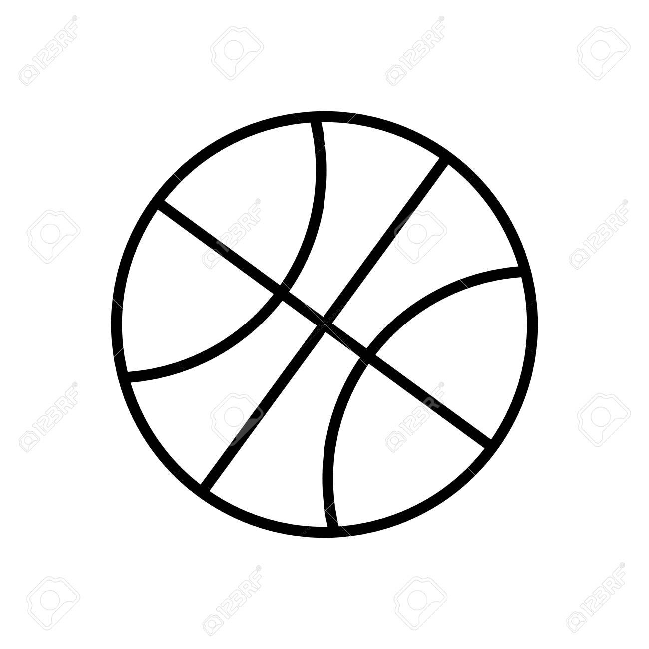 Basketball Ball Drawing At Getdrawings