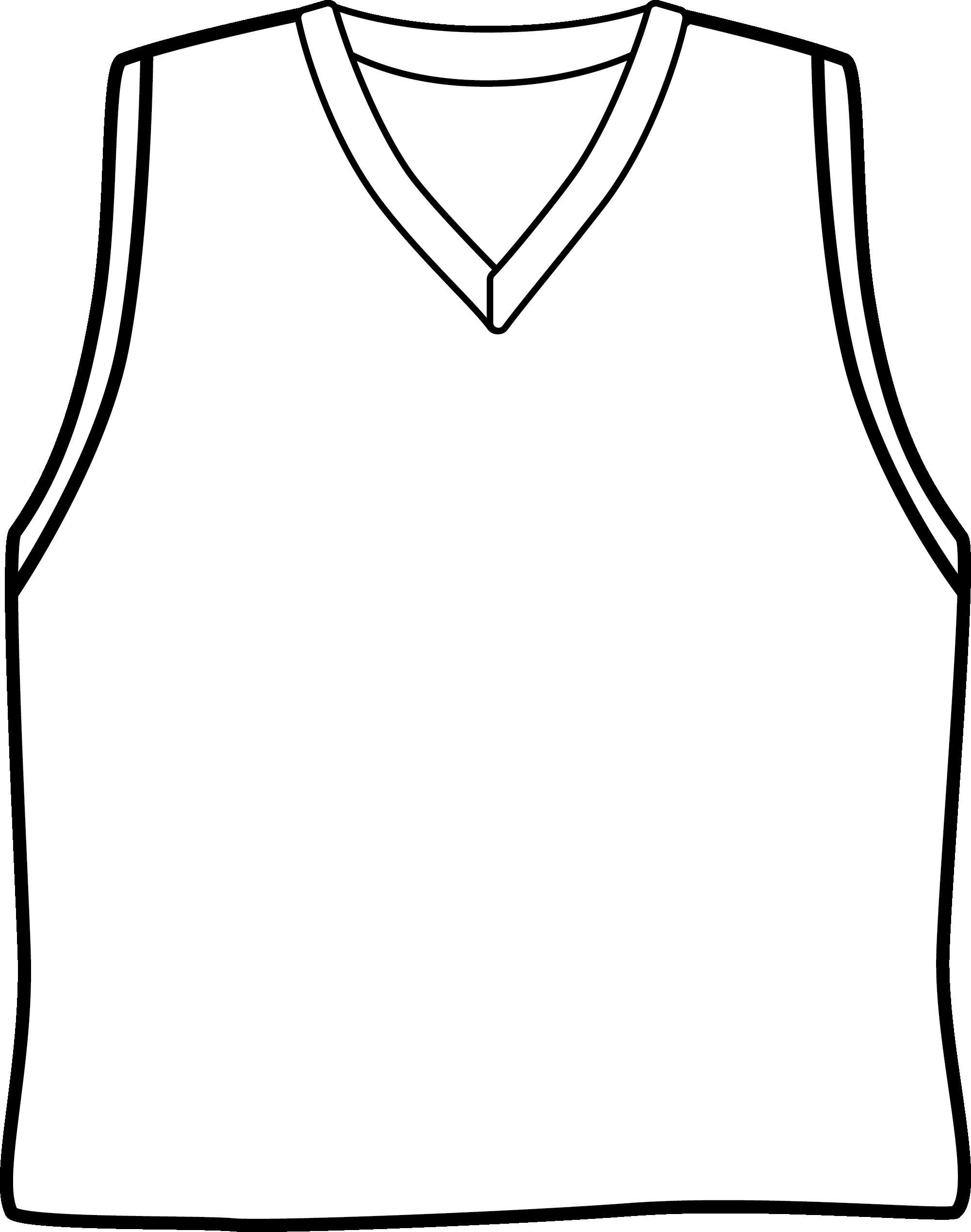 Basketball Jersey Drawing At Getdrawings