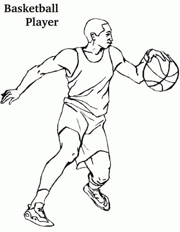 Football Player Drawing At Getdrawings Com