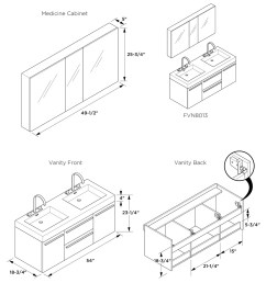 1200x1200 bathroom vanity dimensions kaleeze dimension typical shower [ 1200 x 1200 Pixel ]