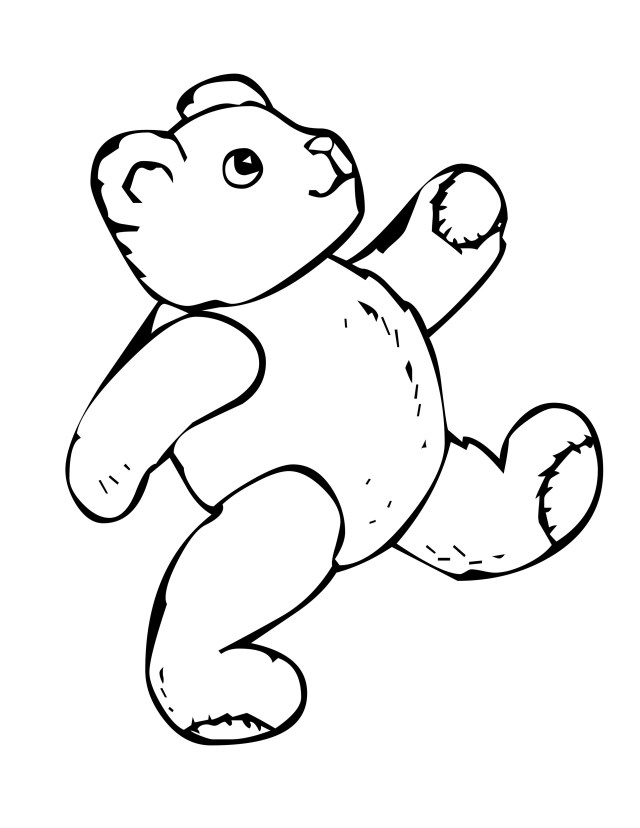 Mean Grizzly Bear Coloring Pages