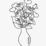 Flower Easy Beautiful Flower Flower Vase Drawing
