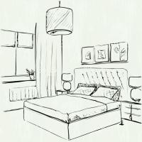 Bedroom Drawing at GetDrawings.com | Free for personal use ...