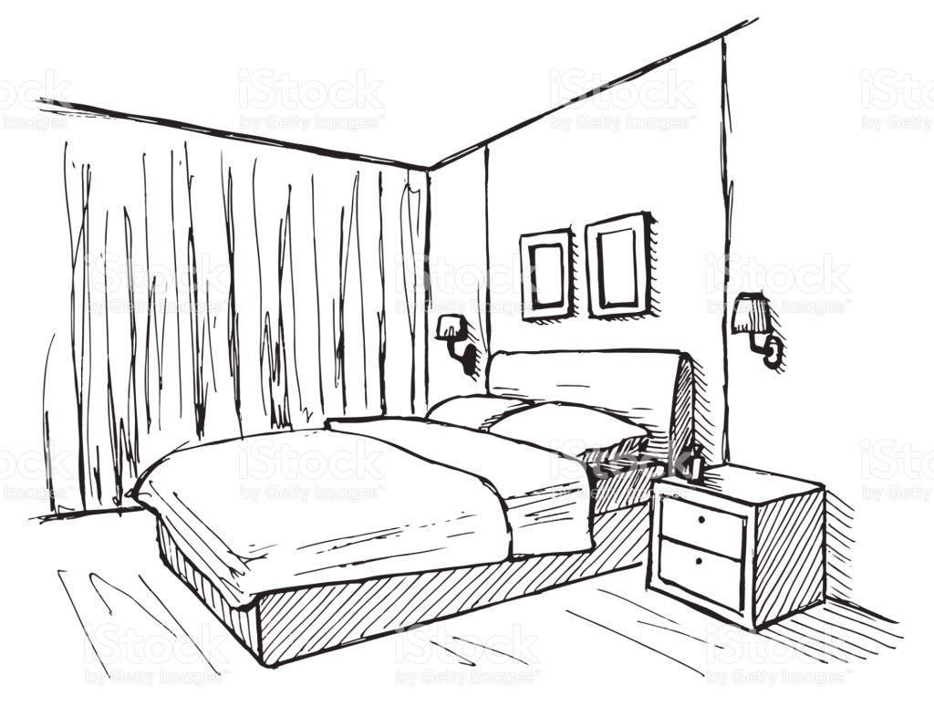Bedrooms Drawing At Getdrawings