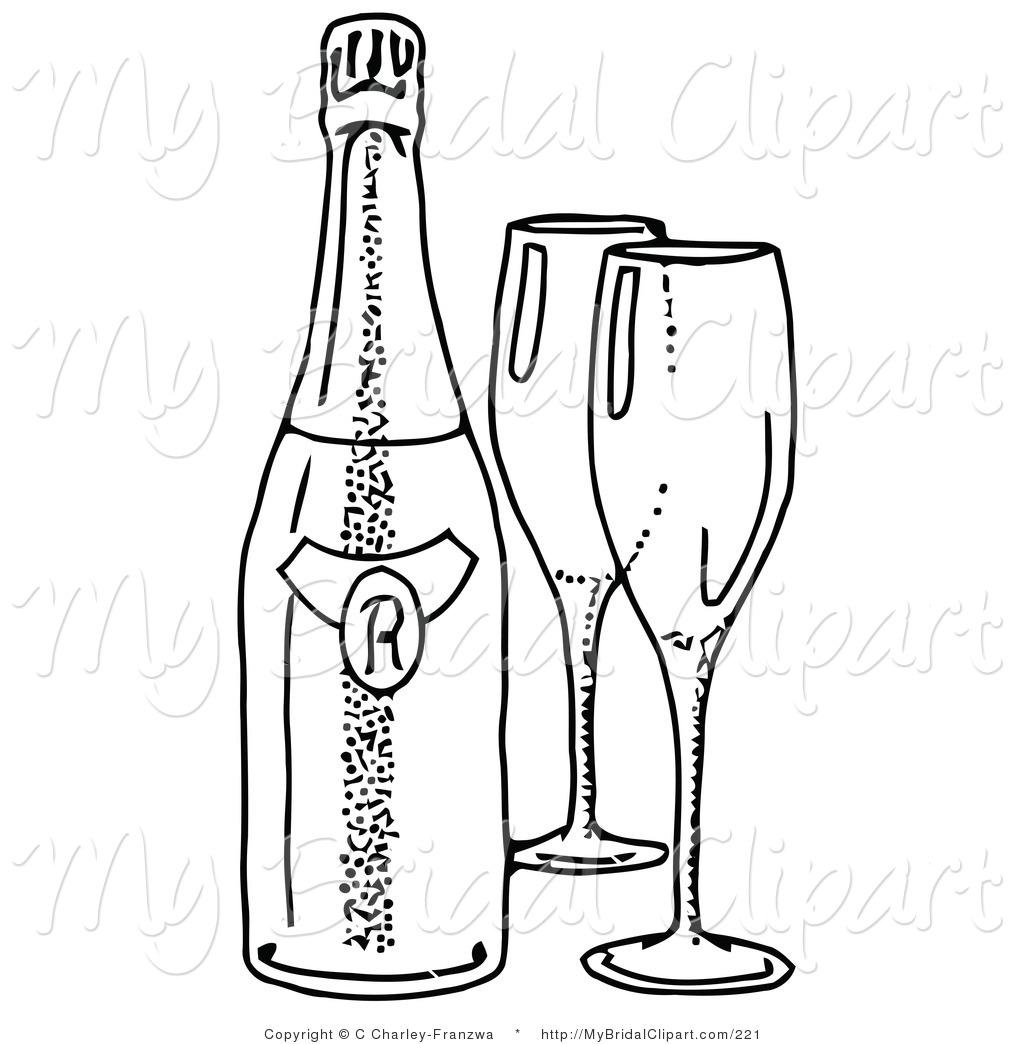 Beer Bottle Line Drawing At Getdrawings