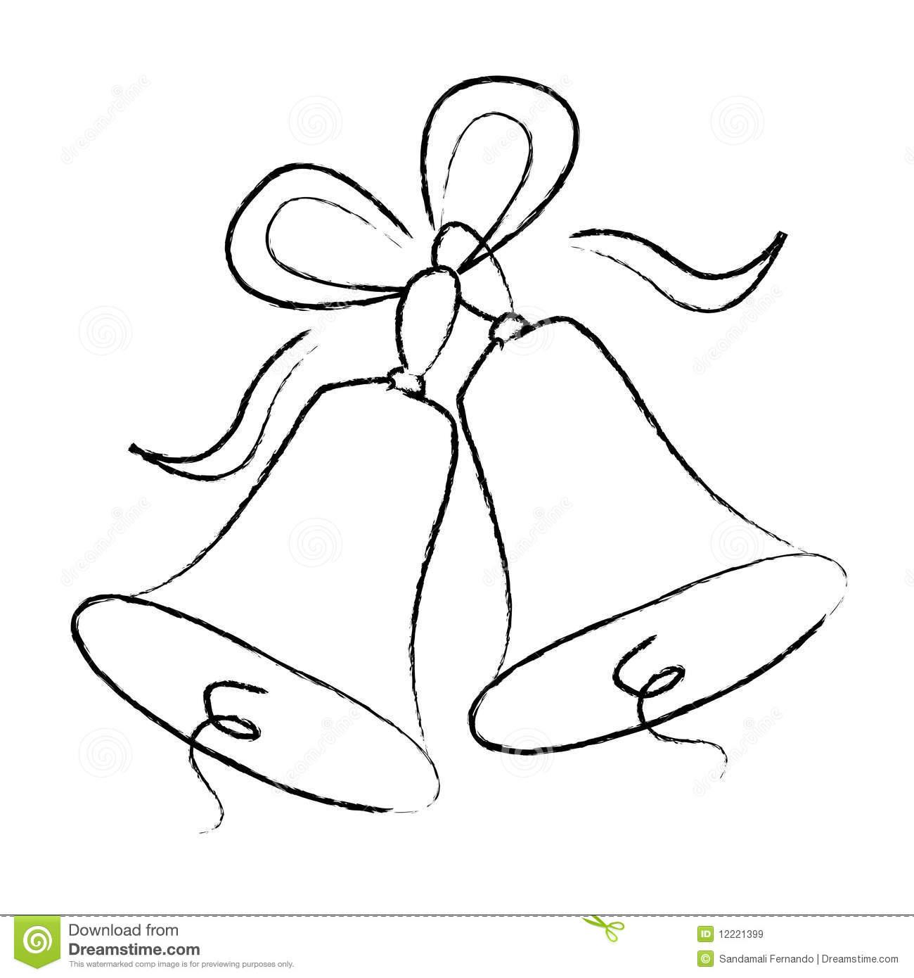 Bells Drawing At Getdrawings