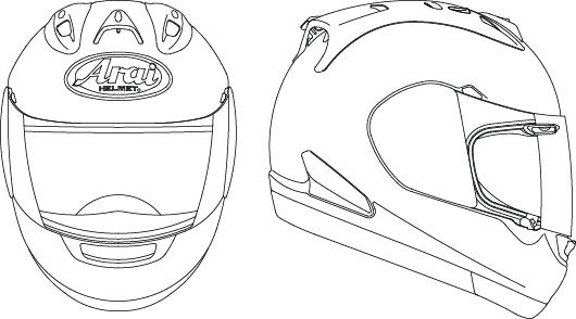 for bike helmet drawings vast