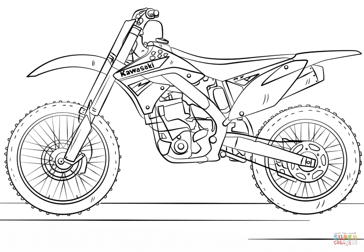 The best free Kawasaki drawing images. Download from 45