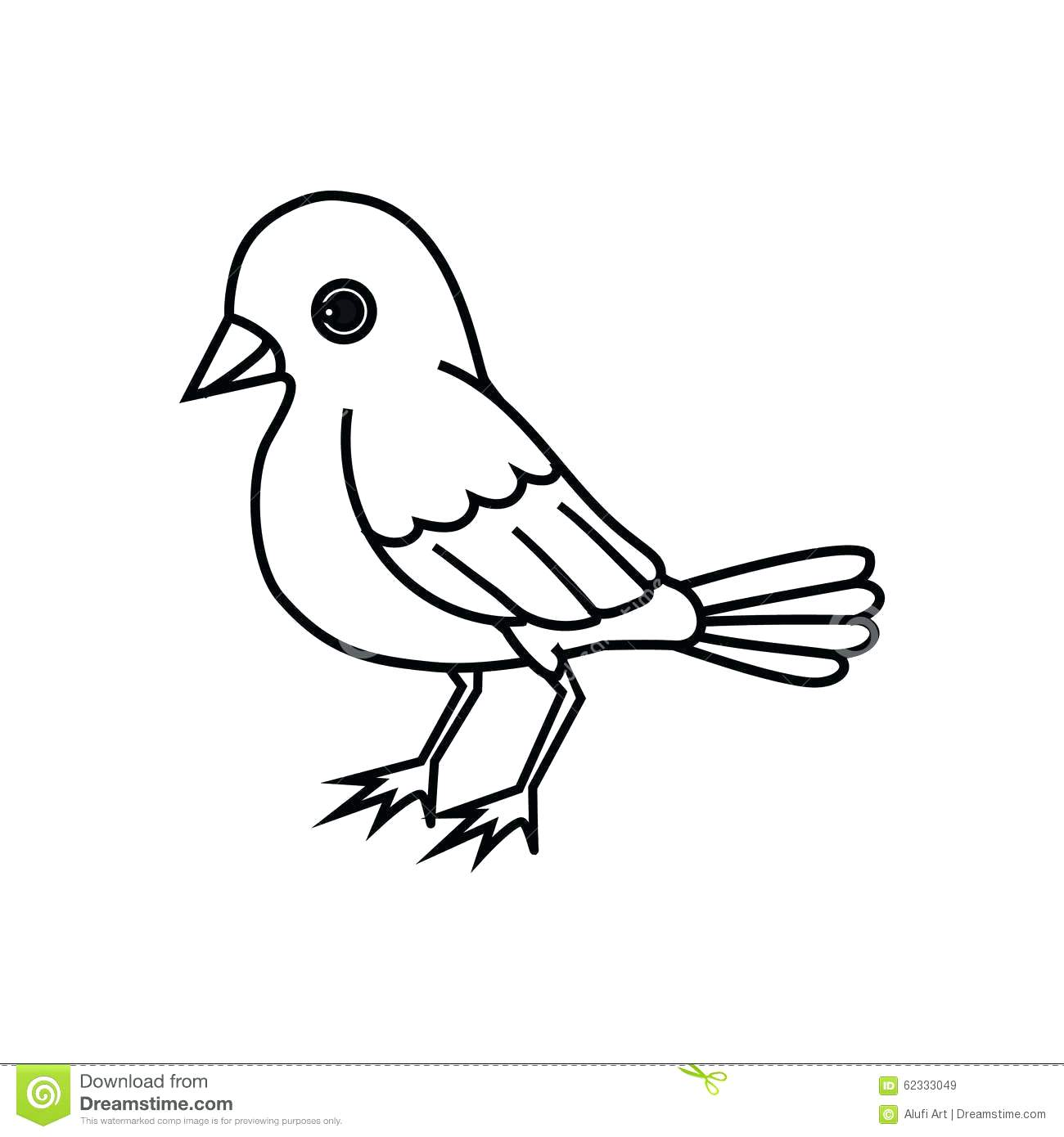 Bird Drawing Outline At Getdrawings