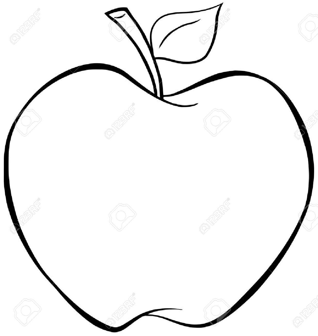 Bitten Apple Drawing At Getdrawings