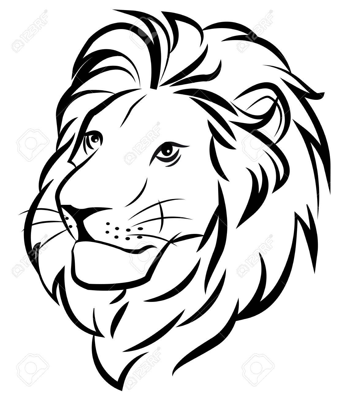 hight resolution of 1129x1300 lion royalty free cliparts vectors and stock illustration image