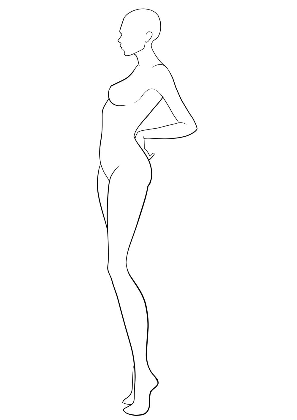 medium resolution of 1654x2339 fashion template