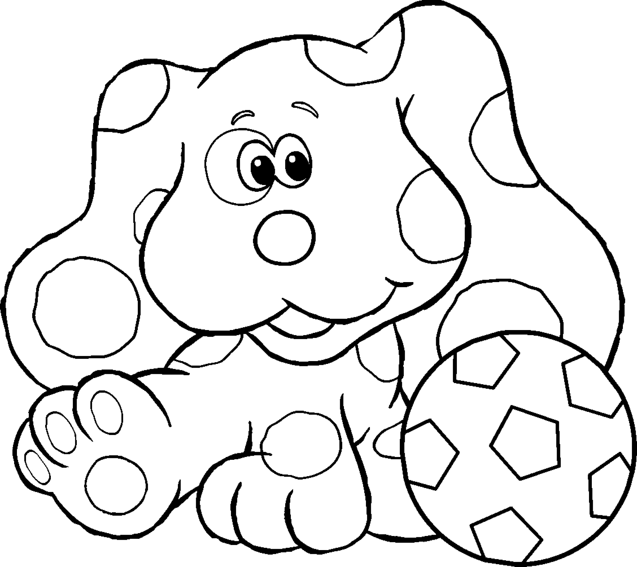 Blues Clues Drawing At Getdrawings