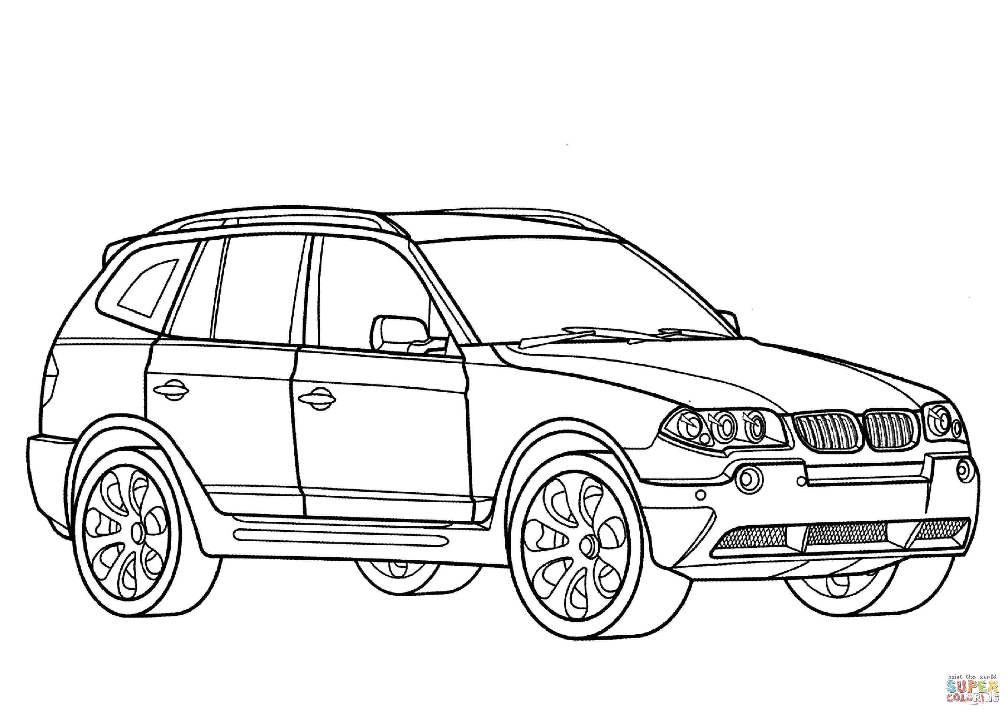 Bmw Car Drawing At Getdrawings