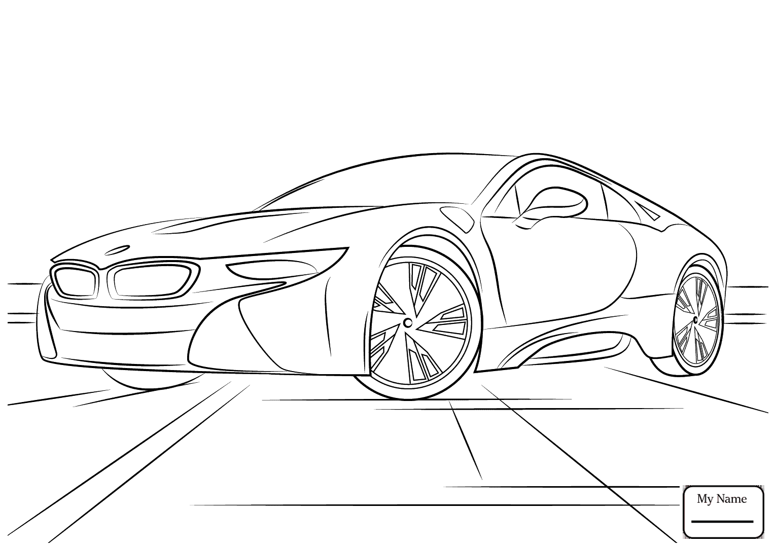 Bmw Drawing At Getdrawings