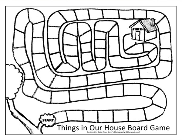 Free game board template Printable Project Sheets t